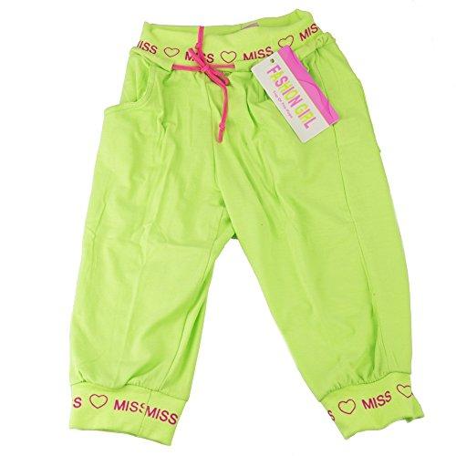 Fashion Girl joggingbroek, groen, voor meisjes, zomer, comfortabel en girly, 6 jaar