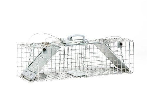 Havahart 1062 Piège cage Easy Set pour animaux 2 portes - Taille moyenne