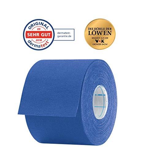 Aktimed Tape CLASSIC - 12 Stück Dunkelblau - Sport Kinesiologie Tape - elastische Bandage - Physio-Tape - Therapie-Tape - atmungsaktiv & hautfreundlich - latexfrei