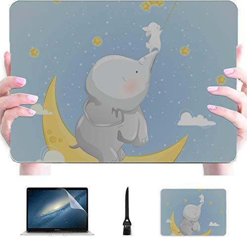 Carcasa rígida de plástico compatible con Mac Air de 13 pulgadas Pro de 13 pulgadas y 16 pulgadas, para MacBook versión 2016 – 2020