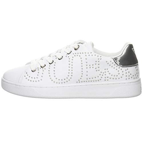 GUESS Razz Zapatillas Blancas para Mujer-UK 3 / EU 36