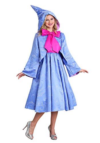 Disney Cinderella Fairy Godmother Women's Costume Large Blue