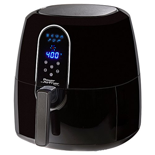 5.5 Qt Family Sized Power Air Fryer Elite 7- In -1 Electric Hot Air Fryer