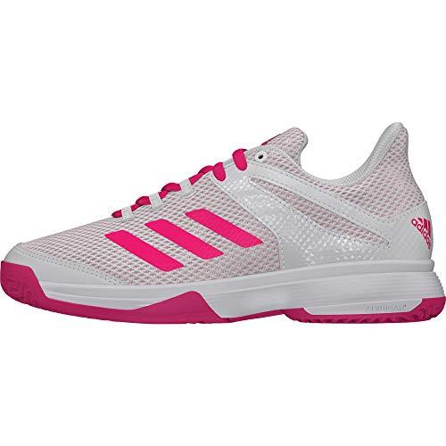 Adidas Adizero Club K, Zapatillas de Tenis Unisex niño, Blanco (Blanco 000), 28 EU