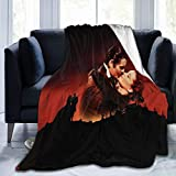 Zordalating Gone with The Wind Soft and Warm Throw Blanket Plush Bed Couch Living Room Fleece Blanket 50'X40'60'X50'80'X60'
