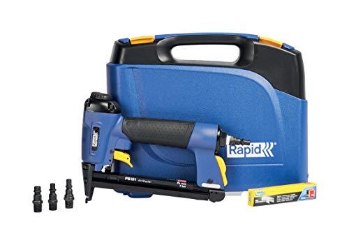 Rapid Drucklufttacker PS101, Druckluft Tacker für Holz und Stoffe, Leicht, Kompakt und Handlich, für Klammern Typ 53, 6-16mm