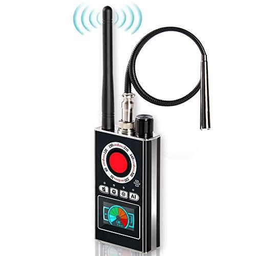Dr.Taylor Detector Anti Espía RF, Ayuda a Encontrar una Cámara Oculta y Rastreador GPS, Dispositivo Anti Eavesdropping Actualizado, Escáner Detector de Errores para Reuniones, Hotel