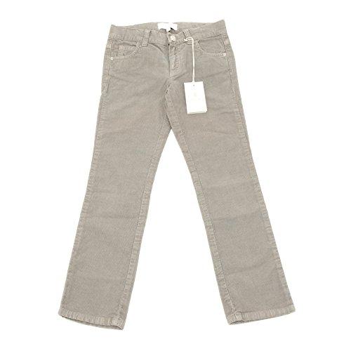 8537G pantaloni bimbo grigi GUCCI cotone velluto pantalone trousers kids [6 YEARS]