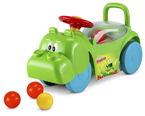 Best Price Adams Pack Ride On Toy Kids Toddler Play Green Colorful Balls Moves Up Down Hippo 3 in 1 ...