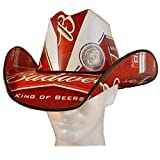 Budweiser Cowboy Hat - Stetson Made from Recycled Budweiser Beer Boxes