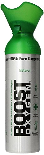 Boost Oxygen Natural Oxygen Can, 10 Liters (1 Can)