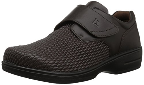 Propet Women's Olivia Slip-on Walking Shoe, Bronco Brown,...