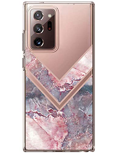 Kinnter Galaxy Note 20 Ultra Funda compatible con Samsung Galaxy Note20 Ultra 5G Silicona Carcasa Soft Bumper Resistente a arañazos Carcasa para Samsung Note 20 Ultra 5G Carcasa fina Mujer Chica