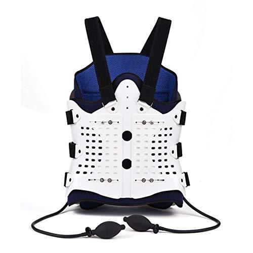 SADDPA DSMYYXGS 1 Juego De Soporte De Airbag for Espalda Cómodo Soporte De Espalda Y Hombro for Hombres Y Mujeres-Dispositivo Médico Fractura Postoperatoria (Color : White)
