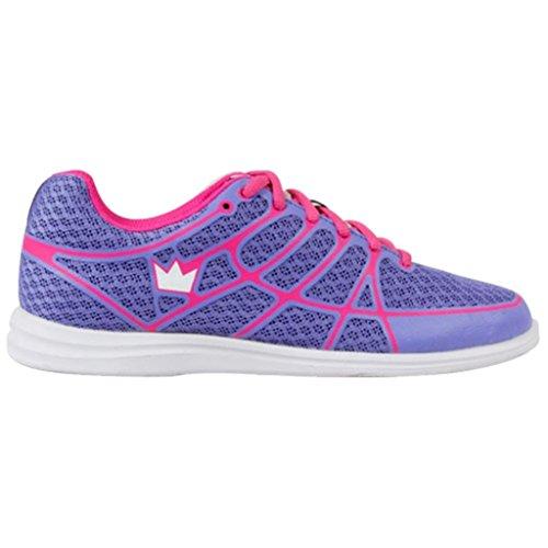 Brunswick Aura Women's Bowling Shoes, Pink/Purple, 10