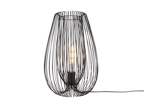LEITMOTIV tafellamp Lucid ijzer zwart L, Large