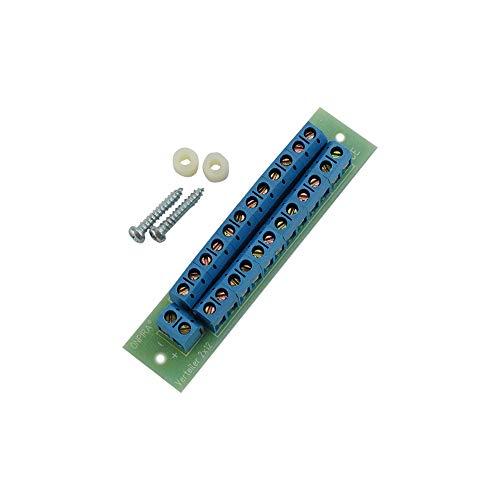 V2x12 Stromverteiler Verteiler Platine 8A belastbar Modellbau Gleich- und Wechselstrom