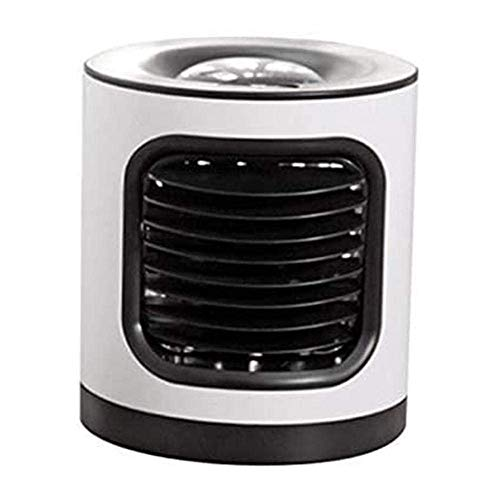 Jieer Enfriador de Aire, Ventilador de Pulverización de Aire Acondicionado Portátil Esta Unidad Portátil Se Puede Mover Fácilmente Alrededor del Escritorio USB Silencioso Verano Escritor