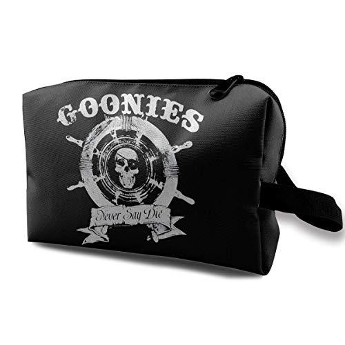 Travel Cosmetic Bag Ladies Cosmetic Bag The Goonies Captain's Wheel, Waterproof Cosmetic Bag, Storage Bag with Zipper