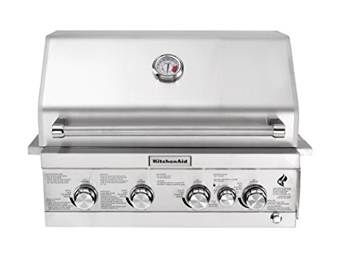 KitchenAid 740-0780 Built Propane Gas Grill, Black