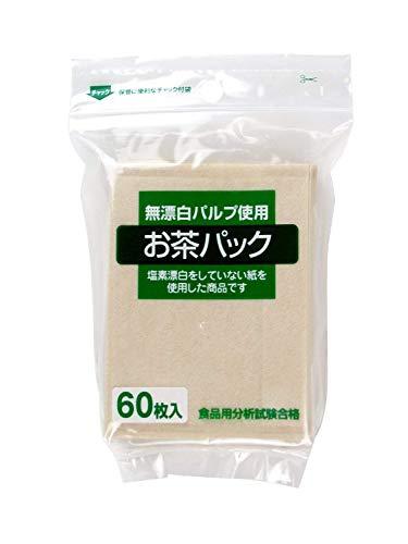ゼンミ 無漂白タイプお茶パック60枚入 3個セット [0038]