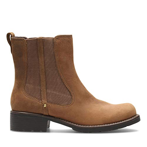 Clarks Orinoco Club, Damen Stiefel, Braun (Brown - 30 Brown Snuff), 39.5 EU / 6 UK
