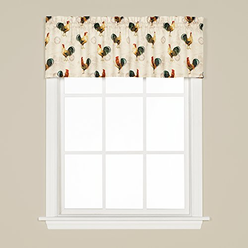 """SKL Home by Saturday Knight Ltd. Tuscan Morning Valance, 57"""" x 13"""", Multicolored"""