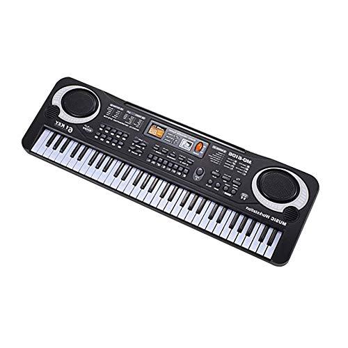 FinukGo Teclado digital 61 Teclas Música Electrónica