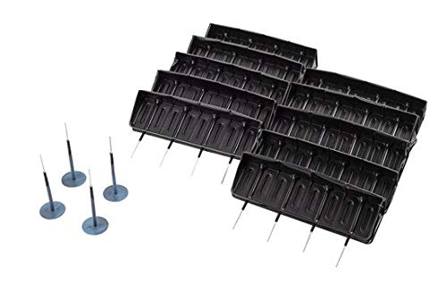 DWT-GERMANY 100569 40x Stk 4,5mm x 34mm Reifenreparatur Selbstvulkanisierend Pilz Pilzförmige Reifenflicken