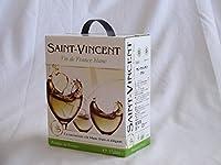 チリ産大容量白ワイン飲み比べセット(サン ヴァンサン ブラン フランス 白ワイン 辛口 3000ml)