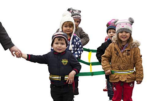 Walkodile Safety Web – 4 Niños, Cuerda De Seguridad Para Niños