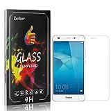 Conber [4 Stück] Displayschutzfolie kompatibel mit Huawei Honor 5C, Panzerglas Schutzfolie für Huawei Honor 5C [Hüllenfreundlich][9H Härte]