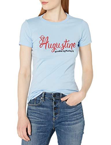 Marky G Apparel Damen MARKYG-6004-ST. Augustine T-Shirt, Babyblau, XX-Large