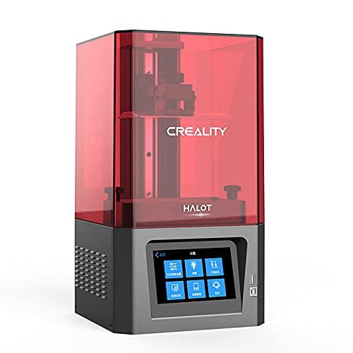 【日本正規販売代理店】Creality 3D HALOT-ONE: CL-60 光造形 3Dプリンター 5.96インチ 2Kモノクロスクリーン 造形サイズ 130 x 82 x 160 mm