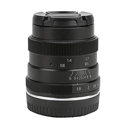 Topiky Lente Focal Fija, Medio Marco con Montura Z 50 mm f1.8 Lente Focal Fija Vertical Foco Manual para cámara sin Espejo Nikon Z6 Z7 Z50