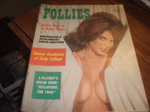 Follies Adult Magazine May 1966 Bridal Night of a...