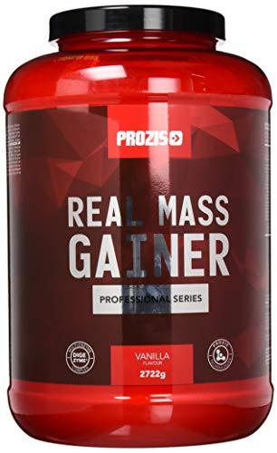 Prozis Real Mass Gainer Professional 2722g Vanille - Gainer mit Protein für Muskelaufbau und Instandhaltung - Mehr als 400 kcal pro Portion