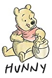 Disney Winnie The Pooh Hunny: Notebook Planner -6x9 inch Daily Planner Journal, To Do List Notebook, Daily Organizer, 114 Pages