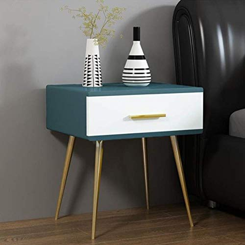 TXXM® Herstellung Nachttische Moderne Holzplatten Bedside Beistelltisch mit starken Tragfähigkeits for Schlafzimmer, Studie, Etc. Praktische Möbel (Color : B)