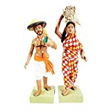 Top Class Artisan Expertise of villagers of Krishnanagar –West Bengal. Those who maintain this art generation by generation. Handmade Idol by Clay ,Organic Clay, Cloths ect.. Miniature Clay Craft , Long Lasting Color and Echo Friendly. Metal wire Ins...