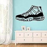 wZUN Bunte Schuhe Selbstklebende Vinyl Tapete Wohnzimmer