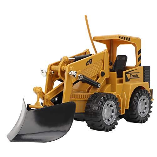 LIUTT Toy Bulldozer - Escavatore giocattolo costruzione camion ingegneria veicolo 1:36 telecomando 5 canali