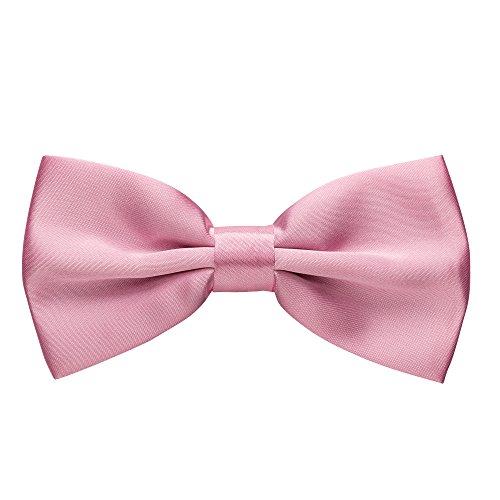 Rusty Bob - Fliege Herren in 35 Farben - Schleife gebunden und verstellbar (12cm x 6,5cm) - für die Hochzeit, die Konfirmation, zum Anzug...
