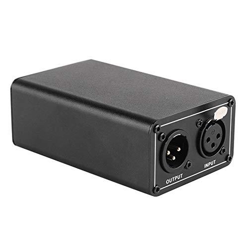LilyJudy NT48V Alimentatore Phantom portatile, Grande Microfono A Condensatore A Diaframma, Supporto Universale 5V Ricarica
