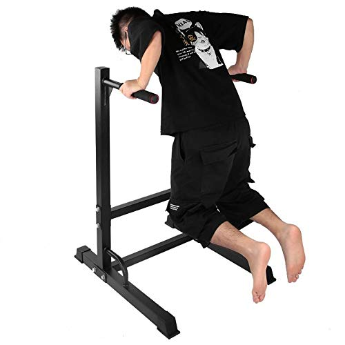 Great Price! Parallel Bar Indoor Fitness Equipment Support Bracket Steel Dipping Knee Raise Station ...