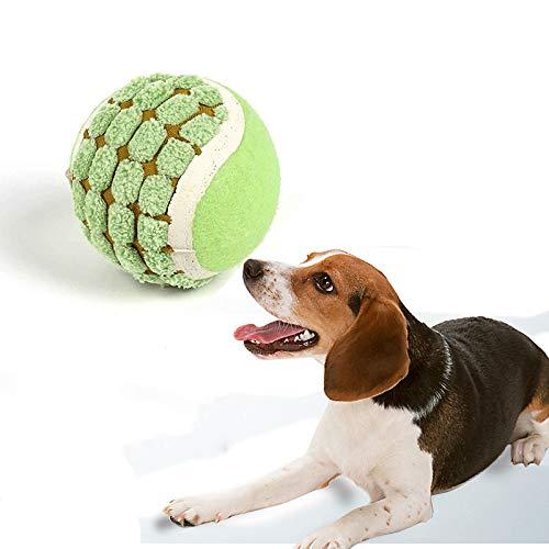 sadf Juguete para Masticar, Entrenamiento para Mascotas, Tenis, ProteccióN Ambiental, InteraccióN, Entrenamiento, Suministros para Mascotas Tira Pelotas para Perros Comida Perros 2,4 Pulgadas