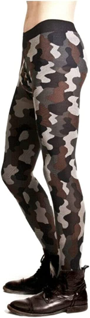 Adrian Mens Camouflage Tights Opaque 60 Denier Pattern Moro Poland Large
