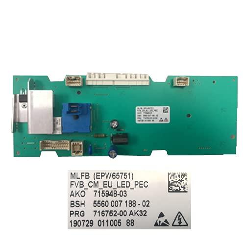 Desconocido Elektronische module voor wasmachine Bosch WAE20067ES/B5 EPW65751 715948-03 SWAP/USA