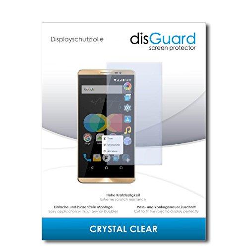 disGuard® Bildschirmschutzfolie [Crystal Clear] kompatibel mit Allview P8 eMagic [4 Stück] Kristallklar, Transparent, Unsichtbar, Extrem Kratzfest, Anti-Fingerabdruck - Panzerglas Folie, Schutzfolie