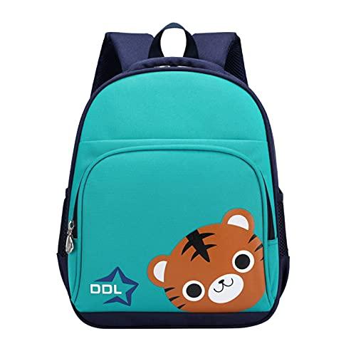 Briskorry Mochila de guardería para niños y niñas, bolsa de guardería, mochila infantil, hasta 2 hasta 5 años, pequeños regalos para niñas, azul celeste, Talla única